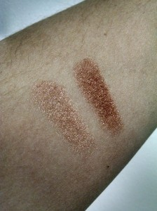 Left to right: The Body Shop Melt My Heart and Bronze Bliss