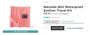 Marcelle Eyeliners